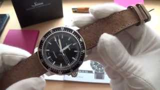 getlinkyoutube.com-The Almost Perfect Everyday Watch - The Sinn 104 St Sa Automatic Pilot Watch Review
