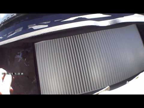 Peugeot 406  Замена салонного фильтра
