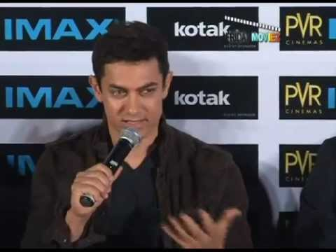 Aamir Launches New Kotak Imax Screen