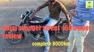getlinkyoutube.com-bajaj avenger street 150 owner review ||complete 8000km|| |MET AUTO|||