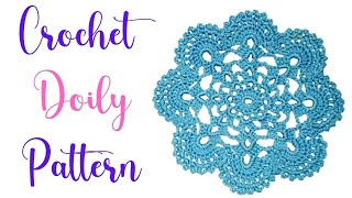 getlinkyoutube.com-How to Crochet a doily Part I
