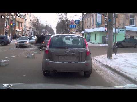 ДТП на Луначарского Калуга