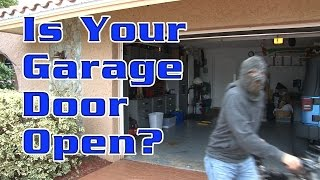 getlinkyoutube.com-Is Your Garage Door Open?