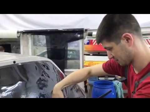 Тонировка без передних стекол пленкой Люмар 15 процентов авто Suzuki Liana (Сузуки Лиана)