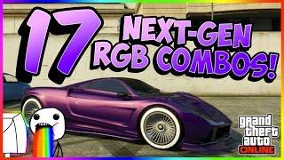 getlinkyoutube.com-GTA Online - 17 BRAND NEW NEXT-GEN RGB COMBOS! (PC/XB1/PS4) (1.11)