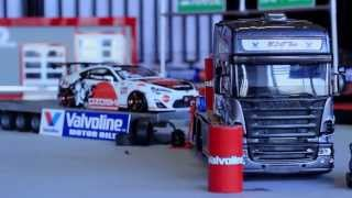 getlinkyoutube.com-I round Valvoline Rc Drift Cup 2013 - Szczecin