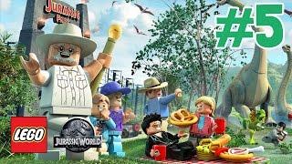 getlinkyoutube.com-Zagrajmy w LEGO Jurassic World odc.5 Ucieczka