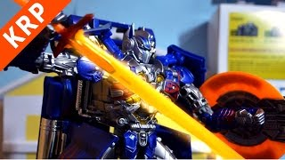 getlinkyoutube.com-Transformers AOE Stop Motion: Optimus VS Nemesis 變形金剛: 柯博文VS大黑暗天