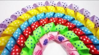getlinkyoutube.com-Episodio 529- Cómo hacer cintas para moños rizados korker sin tener que hornear