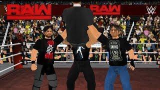 The Shield reunites on RAW- WR3D