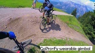 getlinkyoutube.com-GoPro MTB Trail Riding in Austria | Fy wearable gimbal