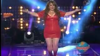 getlinkyoutube.com-Tania Soto la doble de Jenny Rivera en Parodiando Duelo Vs Michael jackson xvid