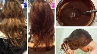 getlinkyoutube.com-How to Dye Your Hair Naturally (with coffee)