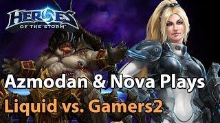 getlinkyoutube.com-► Heroes of the Storm Pro Gameplay: TeamLiquid vs. Gamers2 (Bo3) - Nova & Azmodan Gameplay