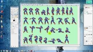 getlinkyoutube.com-Part 1: How to Create a Sprite Character in Anime Studio 8 (Finding the Sprites, Getting Started)