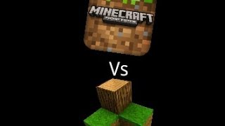getlinkyoutube.com-Minecraft PE vs Survivalcraft