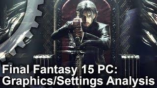 Final Fantasy XV - PC vs Xbox One X Grafikai Összehasonlítás