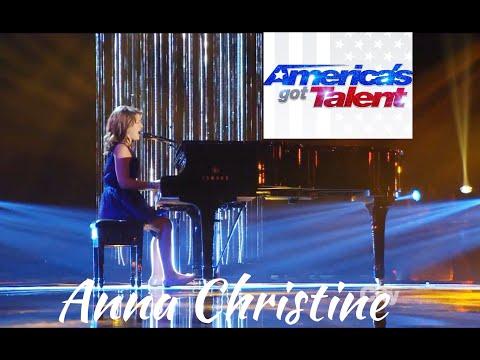 Incredibile voce... 10 anni!!! Anna Christine America's Got Talent 2013