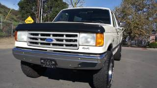 1990 Ford F-250 3/4 ton Pickup Truck Mint 2 Owner 33X12.50X16.5 For Sale