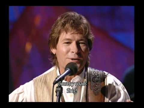 John Denver - Country Roads (with lyrics)
