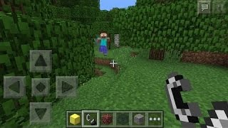 getlinkyoutube.com-How to summon Herobrine in Minecraft Pocket Edition (NEW 0.16.0 UPDATE)!