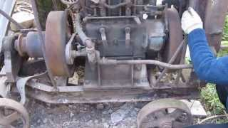 getlinkyoutube.com-stationärmotor Slavia DR27. 2S115. Stationary Engine