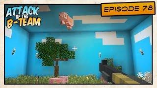 getlinkyoutube.com-Minecraft - Attack of the B-Team! - Duck Hunt with Pigs! - E78
