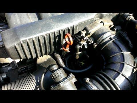 БМВ Е34 Ремонт вентиляции картерных газов BMW E34
