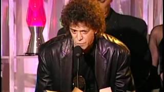 The Velvet Underground Accept Hall of Fame Awards in 1996