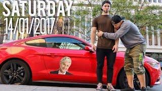 ITS OVER :( Ft The Ellen Degeneres Mustang