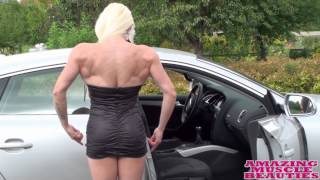 getlinkyoutube.com-Jéssica Sestrem Muscular Female  Strong-Flex