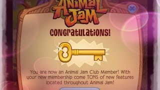 getlinkyoutube.com-[Animal Jam] I GOT FREE MEMBERSHIP!! *PATCHED*