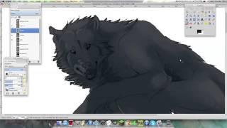 getlinkyoutube.com-Werewolf Speedpaint