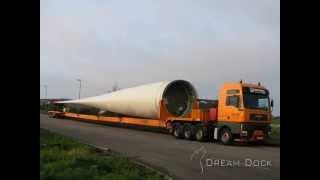 getlinkyoutube.com-Liebherr LG 1750 Nolte Aufbau 5M Windrad crane erecting worlds largest windmill