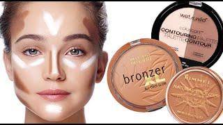 getlinkyoutube.com-Top Drugstore Bronzers | Contouring & Highlighting Tutorial