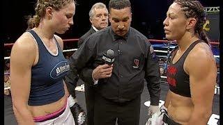 getlinkyoutube.com-Jorina Baars Defeats Cris Cyborg at Lion Fight 14 on AXS TV