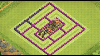 getlinkyoutube.com-Clash Of Clans - Funniest TH7 Troll Base! (Watch People FAIL!) - New 2015 HD - (100 Sub Special!)