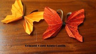 getlinkyoutube.com-Cara membuat origami kupu-kupu cantik