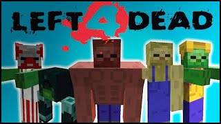 getlinkyoutube.com-Minecraft Mods : LEFT 4 DEAD - MUITOS ZUMBIS