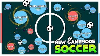getlinkyoutube.com-NEW AGARIO GAMEMODE: SOCCER!!! GOAAAAAAAAL (Agar.io #119 | Mitos.is)
