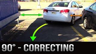 getlinkyoutube.com-90 degrees Parking - How to Correct Yourself