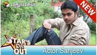 Actor Sanjeev in Stars Dayout (21/06/2014) - Part 2