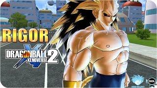 getlinkyoutube.com-Rigor Super Saiyan Transformation VS Black Goku - Dragon Ball Xenoverse 2