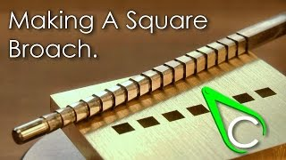getlinkyoutube.com-Spare Parts #13 - Making A Square Broach