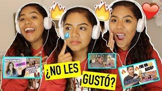 REACCIONANDO A GENTE REACCIONANDO A MI ROAST |Johanna De la Cruz width=