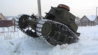 Как сделать танк за пять минут? / How to make a tank in five minutes?
