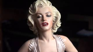 getlinkyoutube.com-Marilyn Monroe 1/4 scale statue