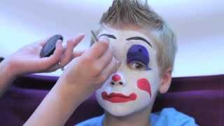 getlinkyoutube.com-How To Facepaint a Clown in 3 Easy Steps - Rubie's Makeup Tutorial