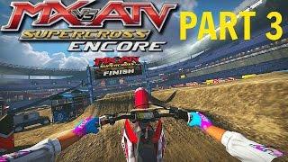getlinkyoutube.com-MX vs ATV Supercross Encore! - Gameplay/Walkthrough - Part 3 - Vegas Baby!