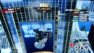 getlinkyoutube.com-Burnout Paradise Glitches Time Square pop up, on lites,and antenna